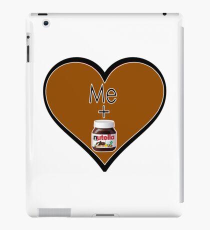 Me + Nutella iPad Case/Skin