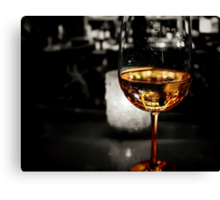 *Captured in a Glass* Canvas Print