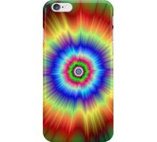 Orange and Green Color Explosion iPhone Case/Skin