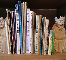 Lewis chessmen bookends by SoutarHero