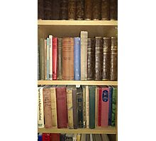 Aged books Photographic Print
