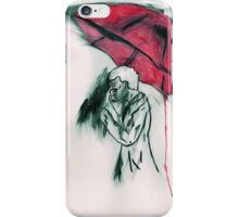 Sherlock in Red iPhone Case/Skin