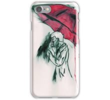 Sherlock in Red iPhone Case/Skin