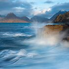 Elgol waves by John Finney
