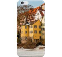 Tübingen - Hölderlinturm by the River Neckar iPhone Case/Skin