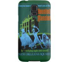 Haunted Mansion Ride Poster Samsung Galaxy Case/Skin