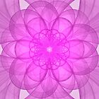 Purple Mandala by Sandy Keeton