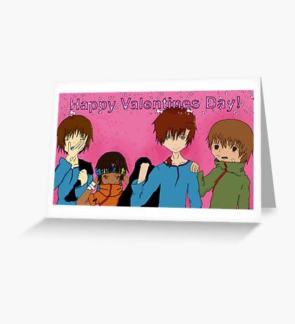 Happy V-D! Greeting Card