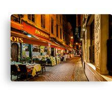 Rue des Bouchers Canvas Print