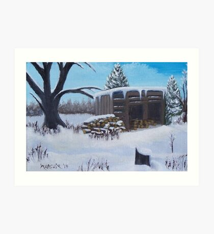 The Woodshed Art Print