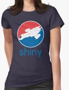 Stay Shiny Womens Fitted T-Shirt