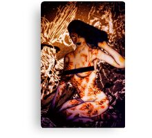 Scars Of Love Canvas Print