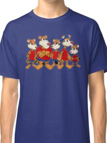 Group of cartoon tigers Classic T-Shirt