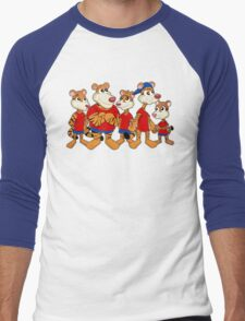 Group of cartoon tigers Men's Baseball ¾ T-Shirt