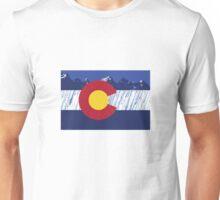 Colorado Rain Flag Unisex T-Shirt