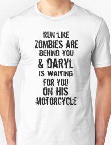 Run Like Daryl Is Waiting T-Shirt