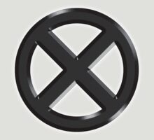 X-men Logo Crest by Johnny Rodriguez