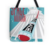 Space Mountain Ride Poster Tote Bag