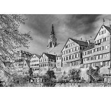 Tübingen - View from the Neckar Bridge 3 Photographic Print
