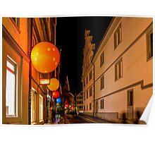 Tübingen at Christmas Poster