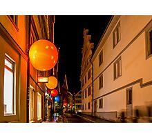 Tübingen at Christmas Photographic Print