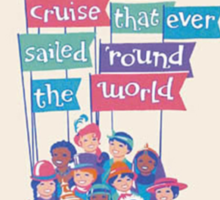 It's a Small World Poster Sticker