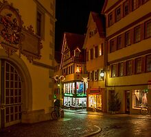 Tübingen at Christmas 2 by Mark Bangert