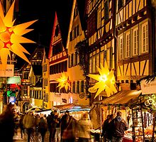 Tübingen at Christmas 3 by Mark Bangert