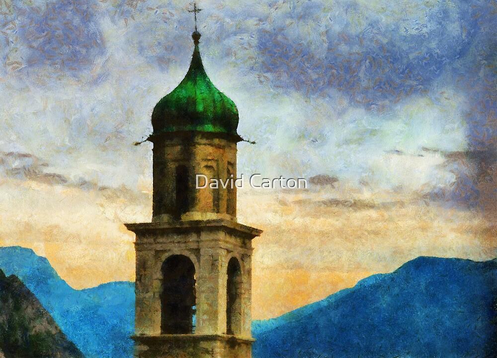 Chiesa di San Benedetto, Limone Sul Garda, Italy by David Carton