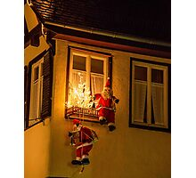 Tübingen at Christmas 4 Photographic Print