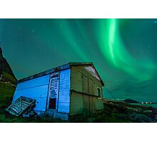Room With a View - Northern Lights Photographic Print