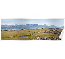 Home of the Reindeer - Svalbard Arctic Poster