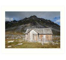 Spitsbergen History - Svalbard Arctic Art Print