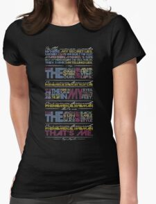 Phenomenal Woman By Maya Angelou - Typographic Poster T-Shirt