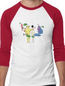 PikPEOPLE Men's Baseball ¾ T-Shirt