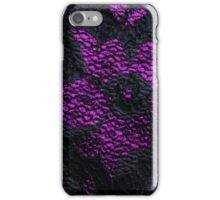 Elegant Gothic Lace Black and Purple Phone Case iPhone Case/Skin