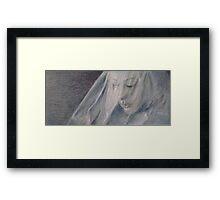 The Silent Street Framed Print