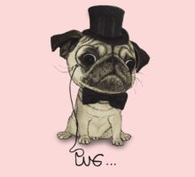 Pug; Gentle Pug (v3) Kids Clothes
