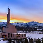 Alta's Northern Lights Catherdral, Norway by KarenMcDonald