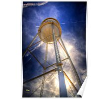 Gilbert HDR Tower Poster