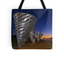 Water Dance Sculptures  Tote Bag