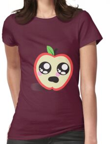The Apple Womens Fitted T-Shirt