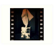 negative tissues Art Print