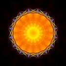 Mandala- Mod 8 by Ronny Falkenstein - 2