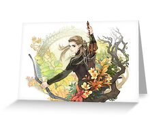 Legolas Greeting Card