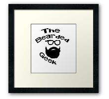The Bearded Geek Framed Print