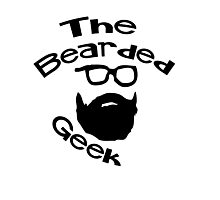 The Bearded Geek Photographic Print