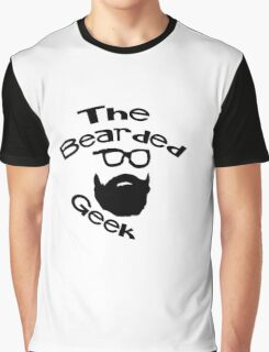 The Bearded Geek Graphic T-Shirt