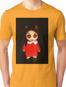 Sinderella the Cute Devilish Dark Gothic Doll  Unisex T-Shirt