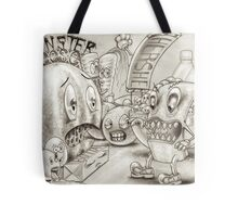 Monster Cheese Tote Bag